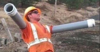 funny construction worker picture 12